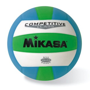 MIKASA VSL215 VOLLEYBALL GREEN/BLUE