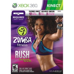 ZUMBA FITNESS RUSH FOR KINECT