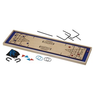 4 IN 1 SHUFFLEBOARD AND MORE TABLE