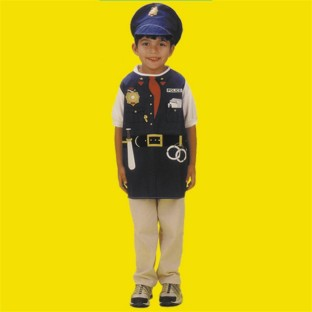DRESS UP POLICE OFFICER