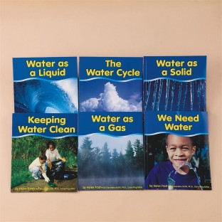WATER SET OF 6 BOOKS