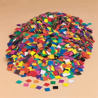 DOUBLE COLOR MOSAIC SQUARES PK/10000