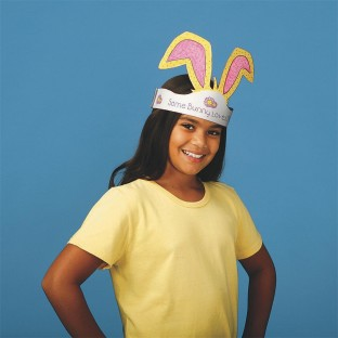 COLORING BUNNY EARS PK/12