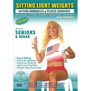 SITTING LIGHT WEIGHTS WITH SUNSHINE DVD