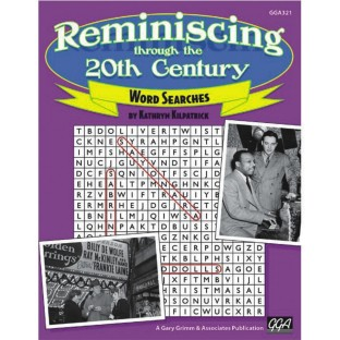 REMINISCING THROUGH THE 20TH CENTURY WORD SEARCH