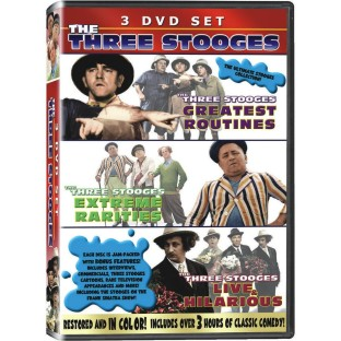 THREE STOOGES IN COLOR 3 DVD SET