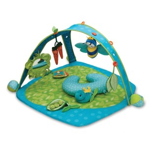 INFANT PLAY GYM GARDEN PATCH DESIGN