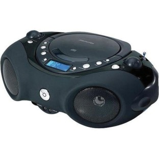 TOP LOADING CD PLAYER WITH AM/FM RADIO