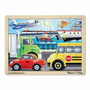 VEHICLES 12 PC. JIGSAW PUZZLE