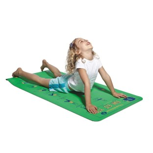 KIDS INSTRUCTIONAL YOGA MAT AND DVD