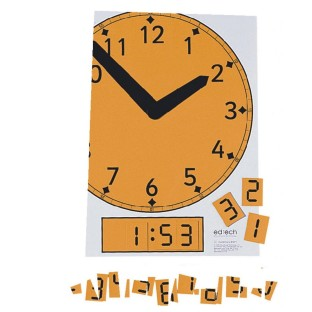 MAGNETIC CLOCK FACE