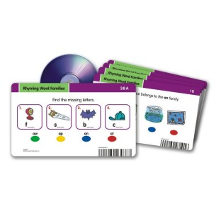RADIUS CD CARD SET RHYMING WORD FAMILIES