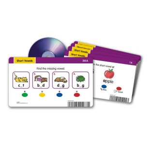 RADIUS CD CARD SET SHORT VOWELS