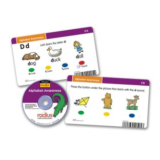 RADIUS CD CARD SET ALPHABET AWARENESS