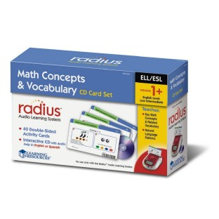 RADIUS CD CARD SET MATH CON/VOCAB K TO 2