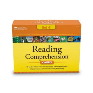 READING COMPREHENSION CARD SET 4