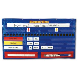 ELAPSED TIME POCKET CHART