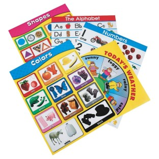 BASIC SKILLS EARLY CHILDHOOD CHART PACK/5