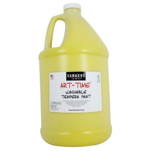 WASHABLE TEMPERA GALLON YELLOW