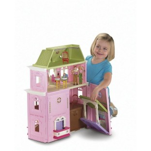 LOVING FAMILY GRAND DOLLHOUSE