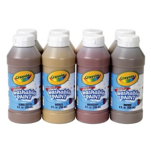 Crayola® Multicultural Washable Tempera Paint