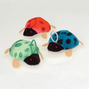 PLUSH LADYBUGS PK12
