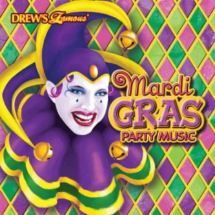 MARDI GRAS PARTY MUSIC CD