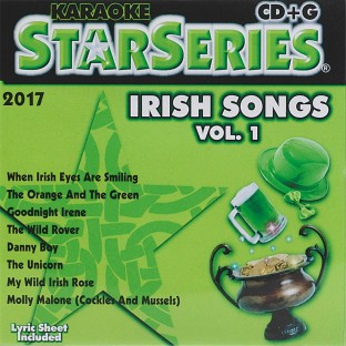 KARAOKE IRISH SONGS VOL1 CD G