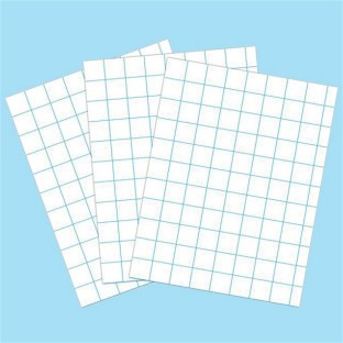 GRAPH PAPER 1IN 8-1/2X11 PK/500 SHEETS