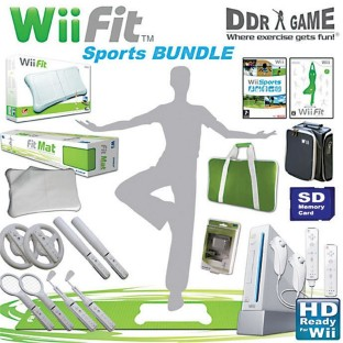 COMPLETE WII SPORT AND FITNESS PACK