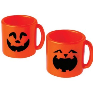 MINI PUMPKIN MUGS PK12