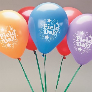 FIELD DAY BALLOONS 11 IN PK100