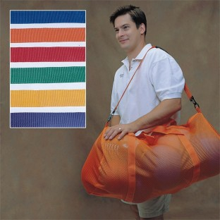 SPECTRUM MESH DUFFLE BAG 15 X 36IN SET 6