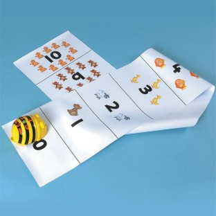 BEE BOT NUMBER TRACKING MAT