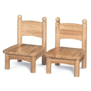 WOODEN CHAIRS 5IN HIGH PAIR
