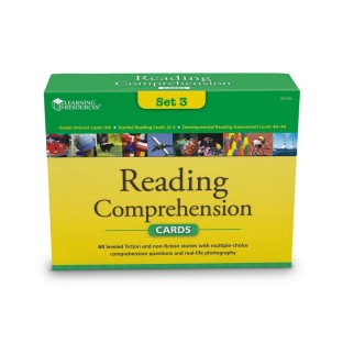 READING COMPREHENSION CARD SET 3