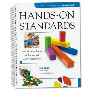 HANDS ON STANDARDS MATH GRADES 5 TO 6 BOOK