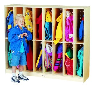 Twin Trim Lockers, 16-Section