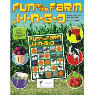 FUN ON THE FARM JINGO GAME