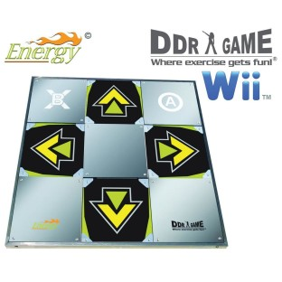 DDR Energy Metal Dance Pad for Wii™