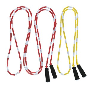 BEADED SPEED JUMPROPE 8FT PK6