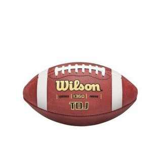 Wilson® TDJ Leather Football