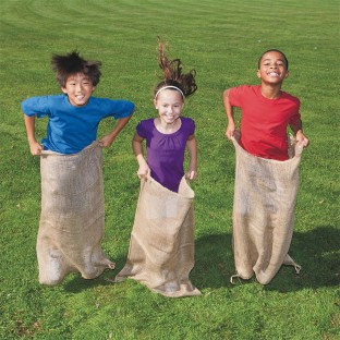 The sack race is back!