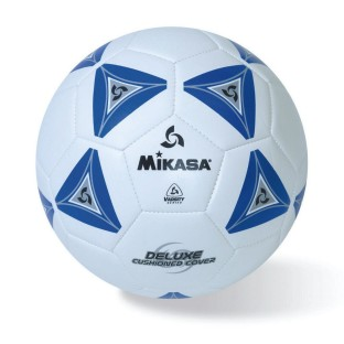 Mikasa® Soft Soccer Ball Size 5 Blue/White