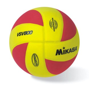 Mikasa® Squish Volleyball, Red/Gold
