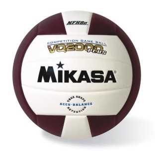MIKASA COMPETITION VOLLEYBALL MAROON