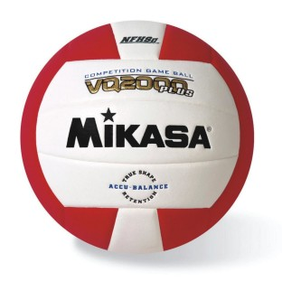 Mikasa® Competition Volleyball, Scarlet