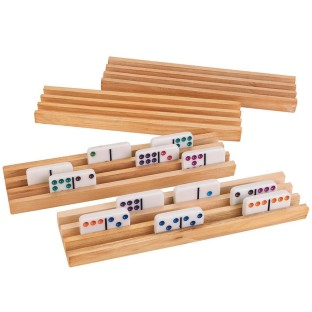 DOMINO TILE HOLDER SET OF 4