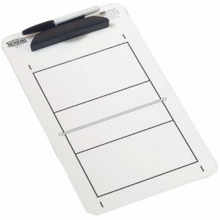 TACHIKARA VOLLEYBALL DRY ERASE CLIPBOARD