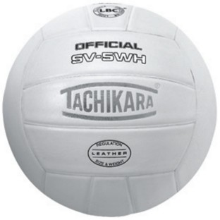 TACHIKARA SV5WH LEATHER VOLLEYBALL